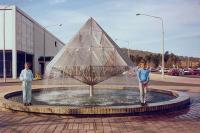 Canberra Times Fountain - 1986