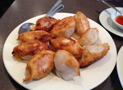 Dumpling Inn fried dumplings
