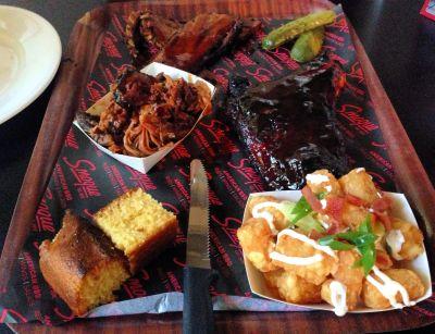 Smoque platter