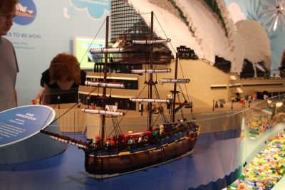 HMS Endeavour in Lego
