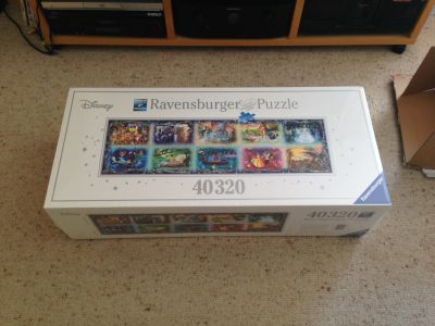 40320 piece Disney Moments jigsaw box