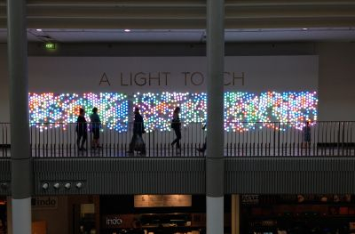 A Light Touch - lights in the Canberra Centre