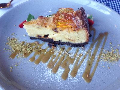 Bella Vista cheesecake
