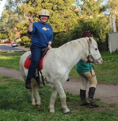 Me on a pony