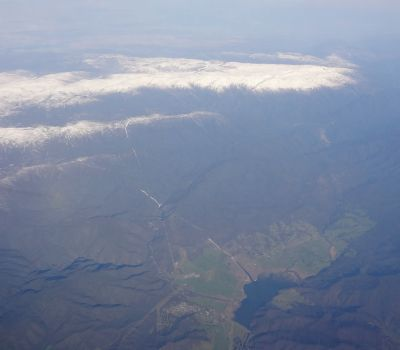 Khancoban from the air