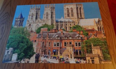 York Minster jigsaw