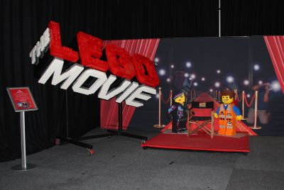Lego movie stage