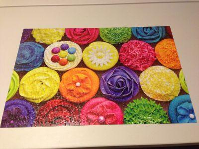 Cupcakes jigsaw