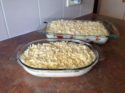 Epic zucchini lasagna
