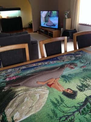Jungle Book jigsaw and movie
