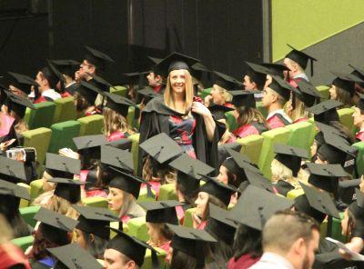 Kit's graduation