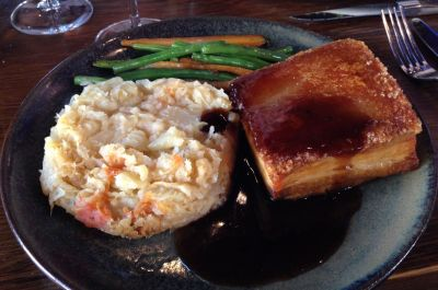 Lake George pork belly