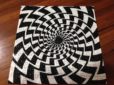 Optical Illusion Jigsaw