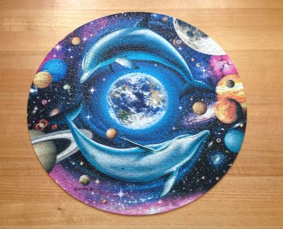 Royce Dolphin World jigsaw