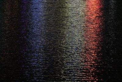 Reflections in the Yarra River