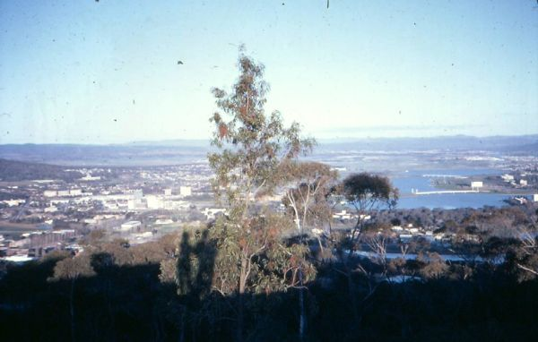 Canberra from Black Mountain, August 1968