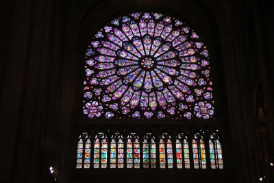 Rose Window in Notre Dame