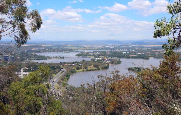 Canberra from Black Mountain, December 2016