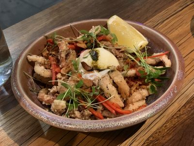 Akiba salt and pepper squid