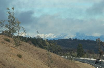 Canberra snow