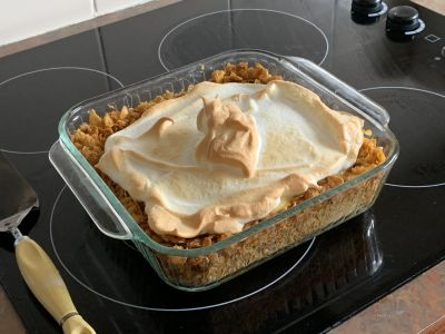 Chris's lemon meringue pie