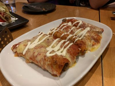 Ciscos enchiladas