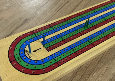 Cribbage game I won