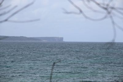 Point Perpendicular (centre) and entrance to Jervis Bay