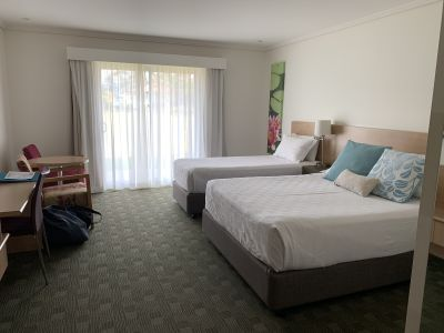 Our room at Springs Shoalhaven