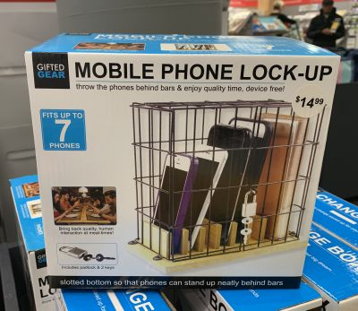 Mobile phone lockup