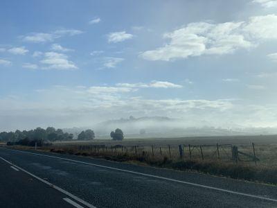 Foggy Barton Highway