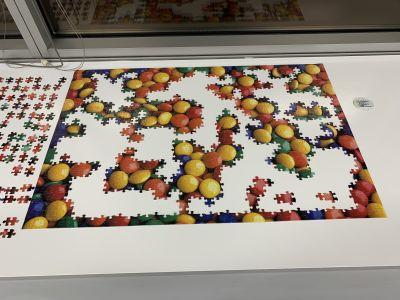 Smarties jigsaw