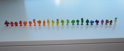 Coles Stikeez Complete Collection