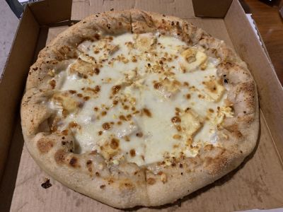 Vomit pizza