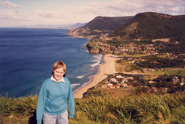 Kaz at Stanwell Tops