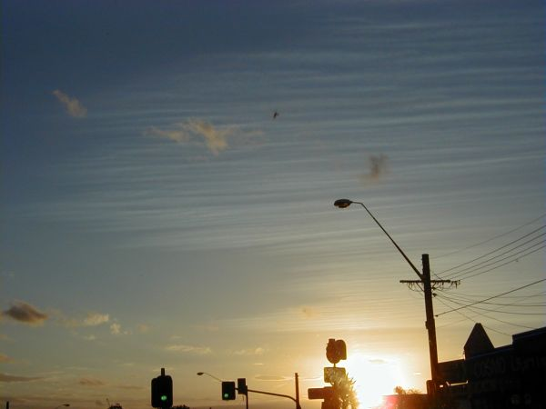 Sunset over Kogarah