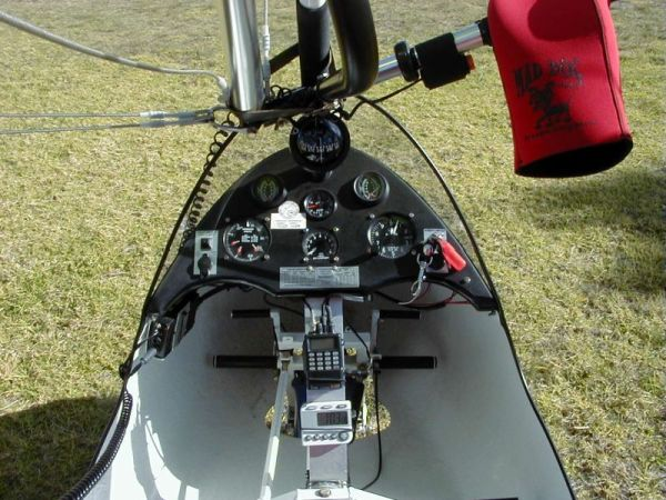 Controls of the trike