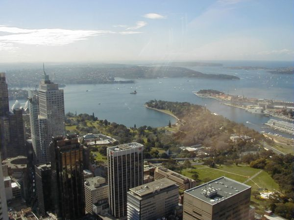 Sydney Tower view, 2000