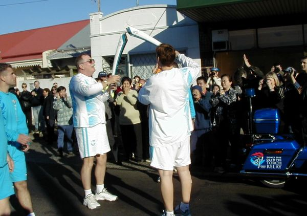 Sydney Olympic Flame Torch Relay - Marrickville