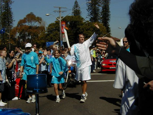 Sydney Olympic Flame Torch Relay - Randwick