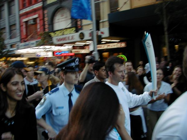 Sydney Olympic Flame Torch Relay - City