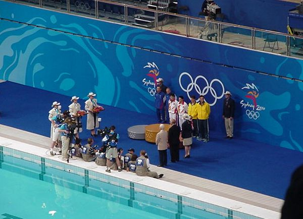 Synchronised diving medal winners