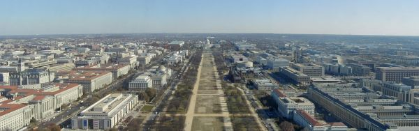 National Mall panorama - new
