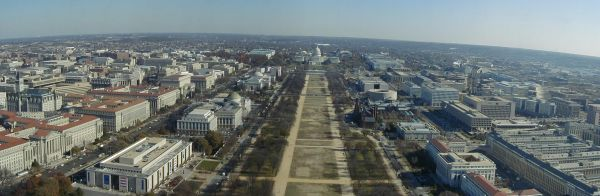National Mall panorama - old