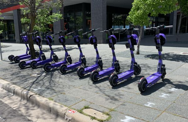 Beam scooters