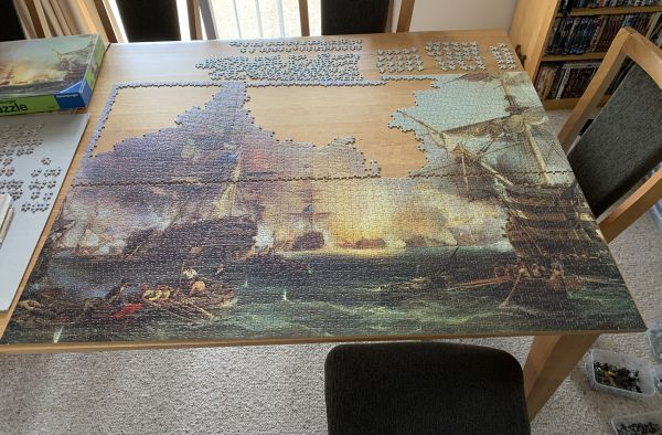 Bombardment of Algiers jigsaw