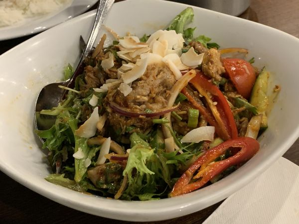 Chong Co duck salad
