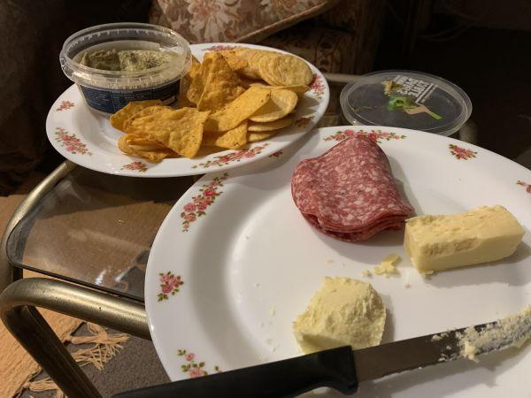 Club healthy dinner