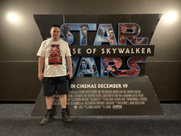 David at Star Wars