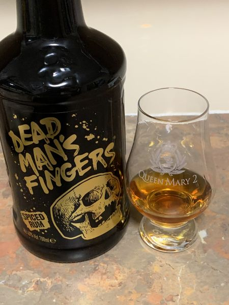 Dead mans fingers spiced rum